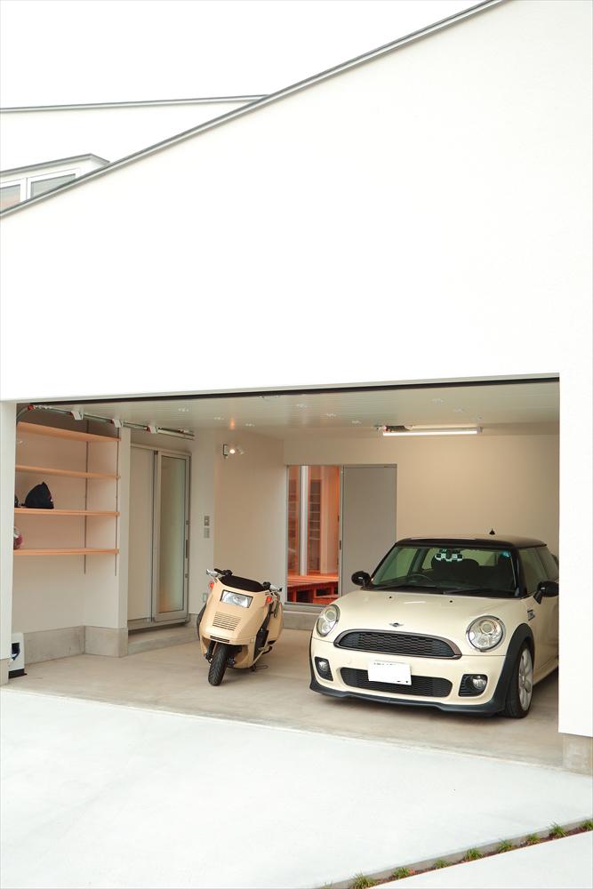 STYLE#041 趣味の空間を大切に…ガレージハウス