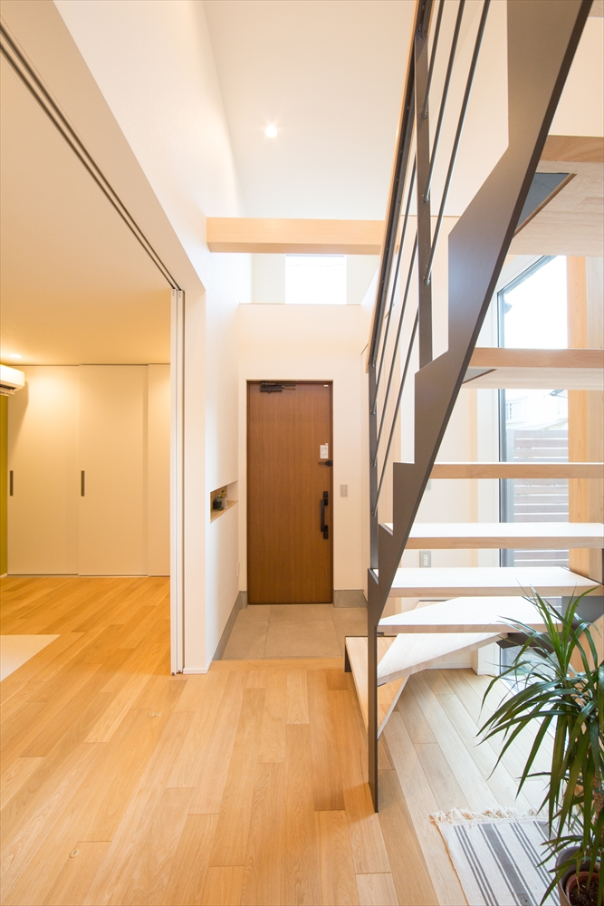 STYLE#040 変形地を有効活用した最適な間取りの家