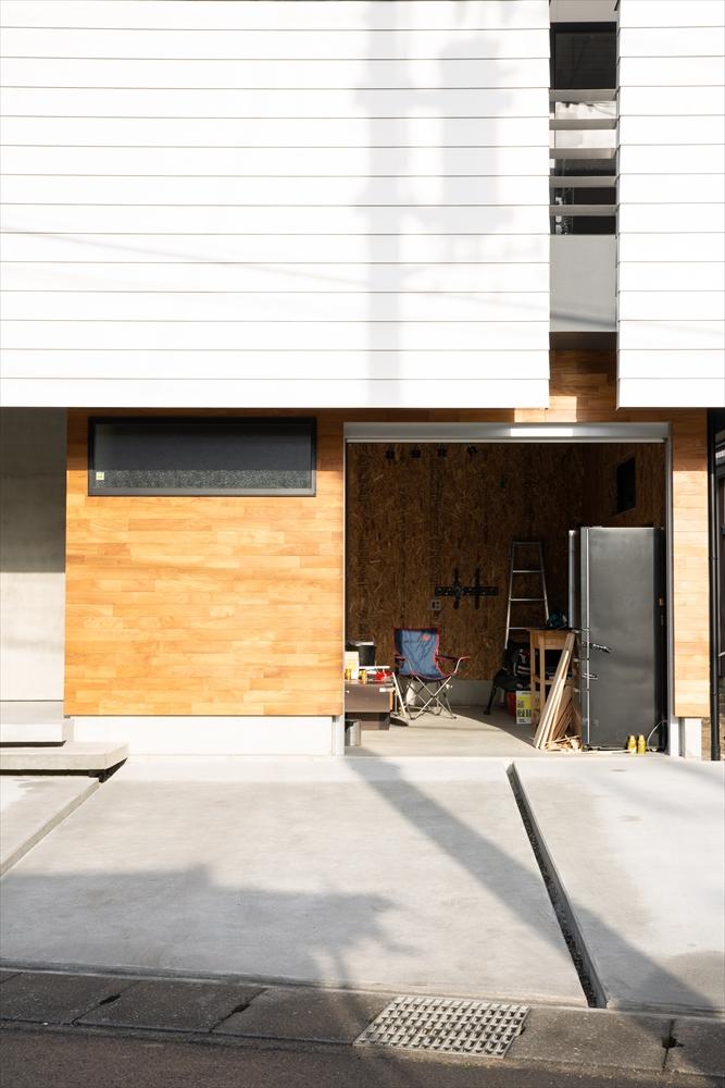STYLE#51 趣味を楽しむバイクガレージのある家